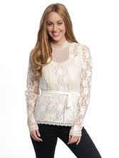 Vive Maria Dandy In Love Blouse offwhite – Bild 0