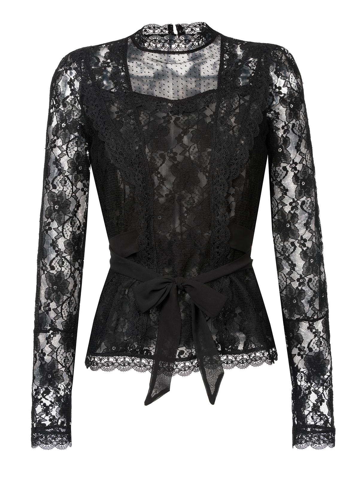 13c1e48f2b52 Vive Maria Dandy In Love Blouse black Clothing Shirts