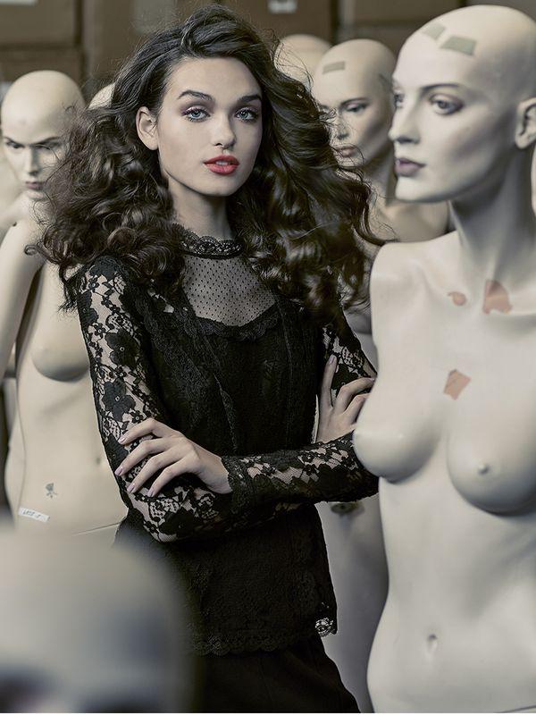 Vive Maria Dandy In Love Blouse black – Bild 5