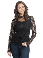 Vive Maria Dandy In Love Blouse black – Bild 1