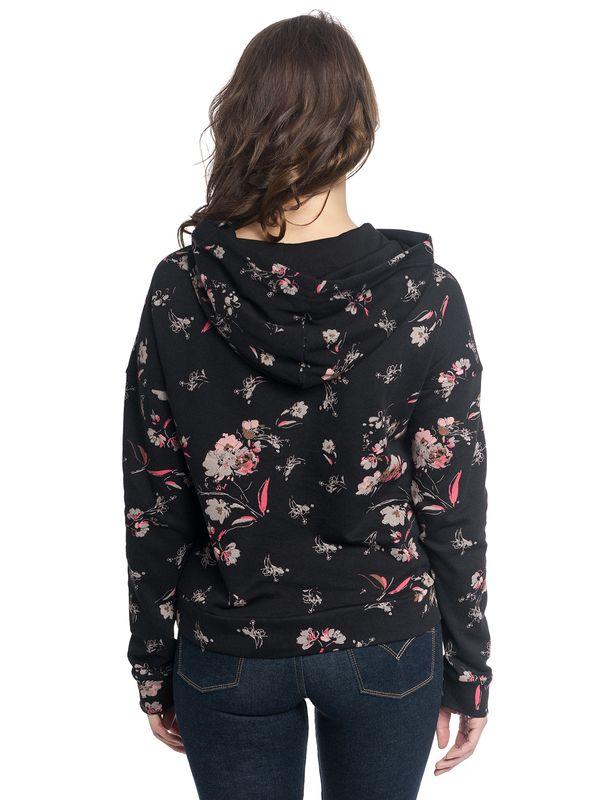 Vive Maria Cosy Flower Hoodie schwarz allover – Bild 3