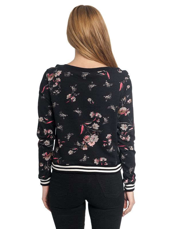 Vive Maria Cosy Flower Sweater schwarz allover – Bild 3