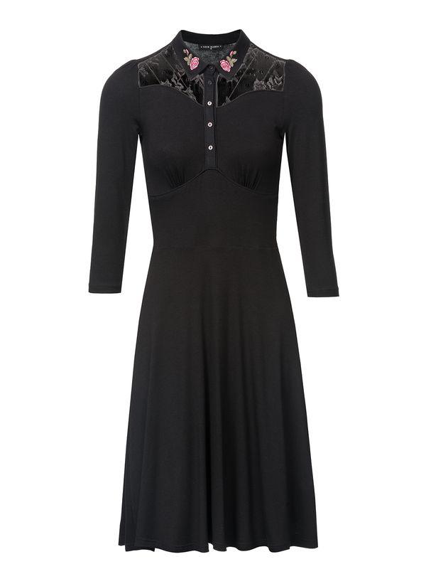 Vive Maria Cowgirl Kleid schwarz – Bild 2