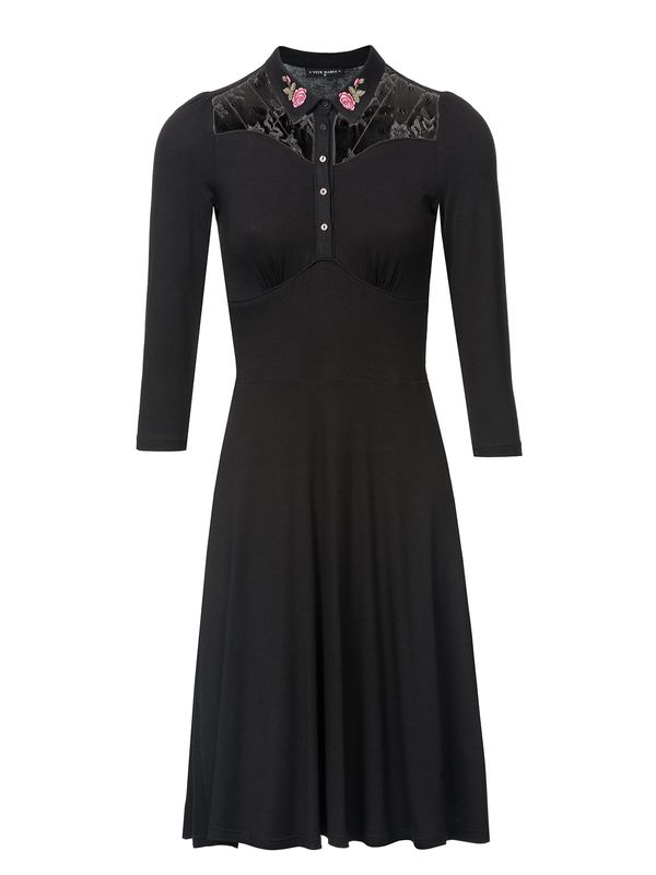 Vive Maria Cowgirl Dress black – Bild 0