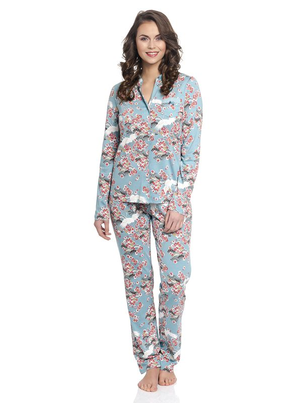 Vive Maria Wild China Dream Pyjama turquoise allover – Bild 1