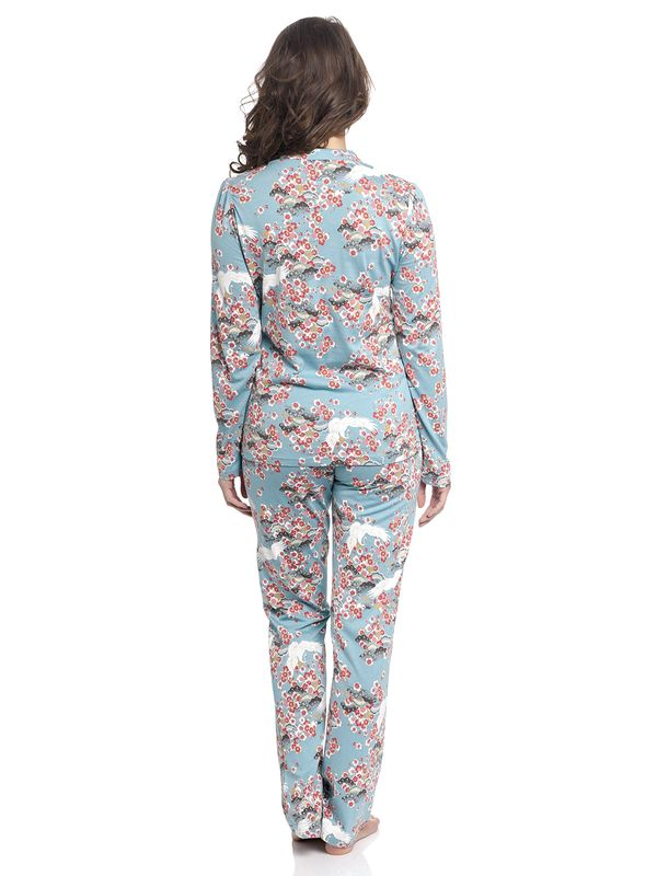 Vive Maria Wild China Dream Pyjama turquoise allover – Bild 2