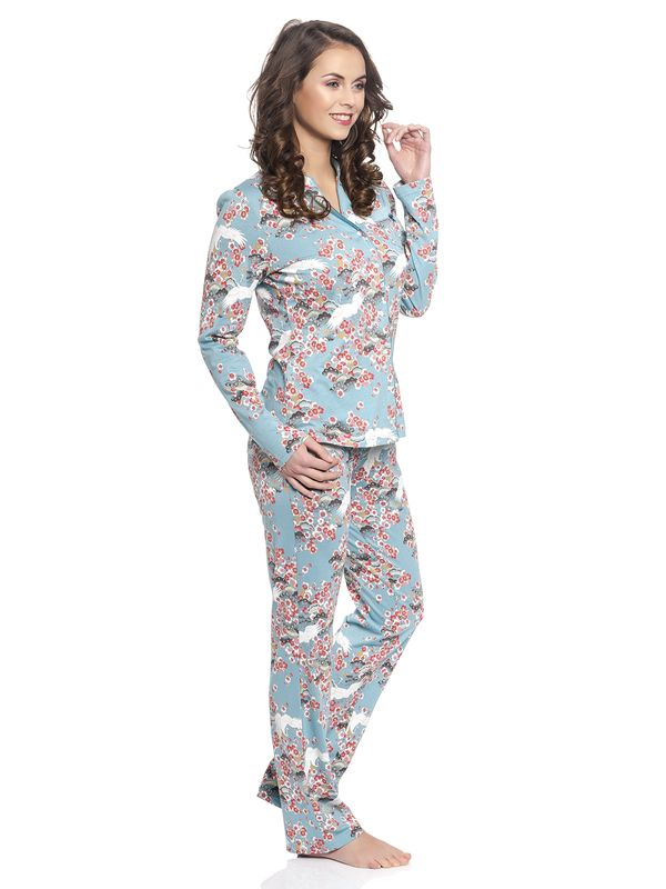 Vive Maria Wild China Dream Pyjama turquoise allover – Bild 3