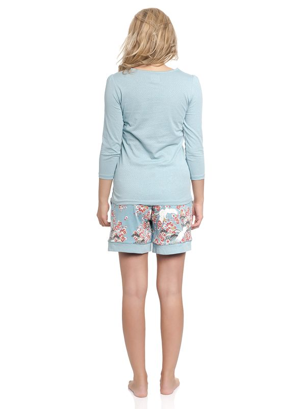 Vive Maria Wild China Girl Short Pyjama turquoise allover – Bild 5