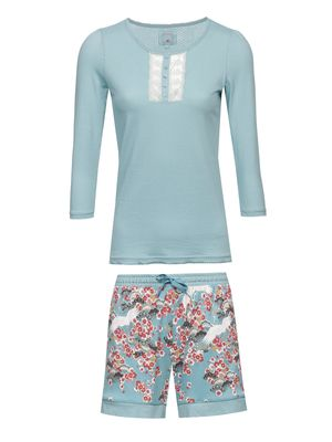 Vive Maria Wild China Girl Short Pyjama turquoise allover – Bild 0
