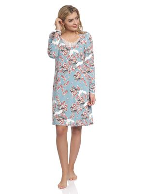 Vive Maria Wild China Dream Nightdress turquoise allover – Bild 1