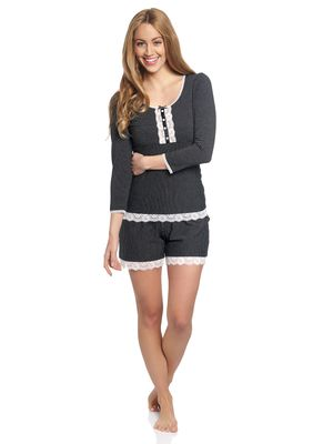 Vive Maria Dandy Nights Short Pyjama black – Bild 1
