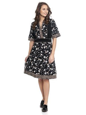 Vive Maria Indochina Leo Dress black – Bild 1