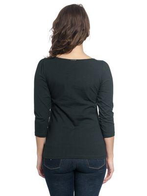 Vive Maria Folk Romance Shirt dark grey – Bild 2