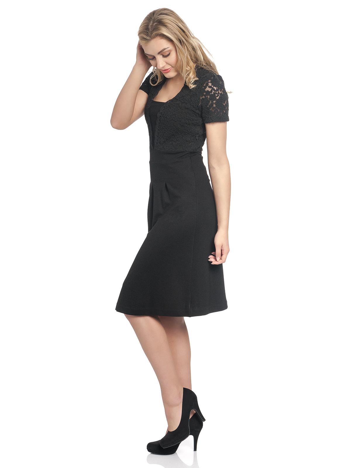 timeless design 3ea38 b6ca9 Vive Maria Party Lace Dress Black