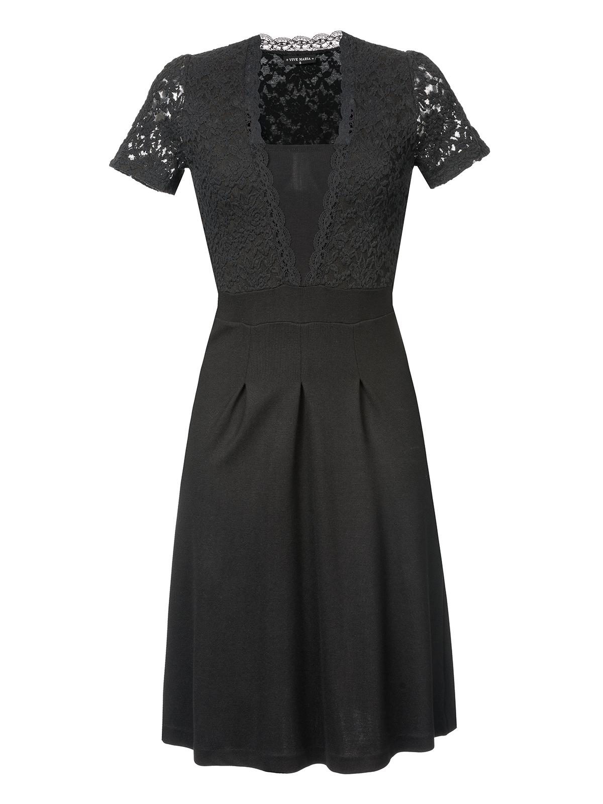 6003c1ed243e9 Vive Lace Kleider Maria Party Bekleidung Schwarz Kleid kXlwOZiTPu