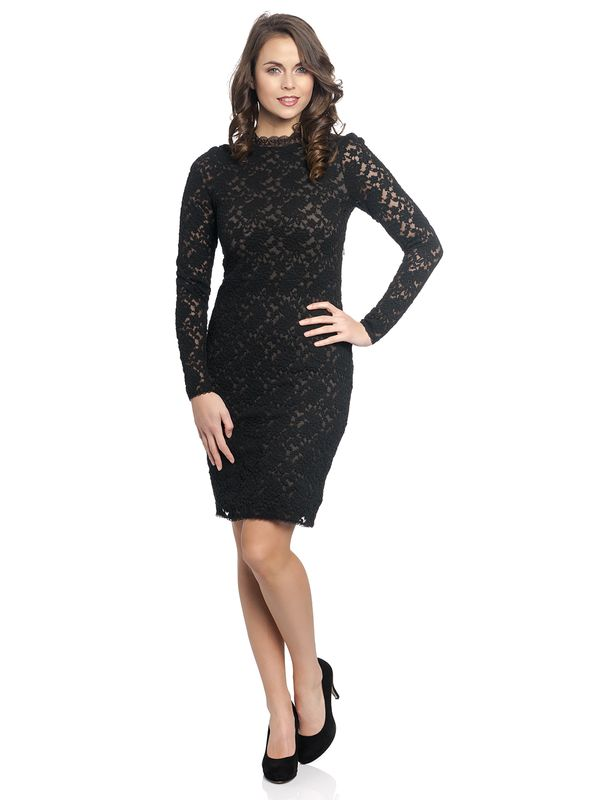 Vive Maria Princess Lace Dress black – Bild 1