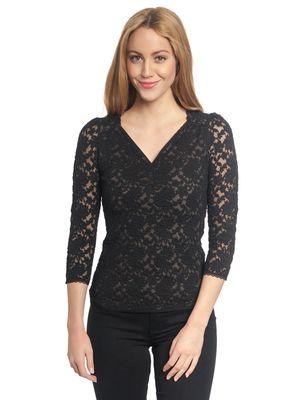 Vive Maria Vintage Lace Shirt black – Bild 1