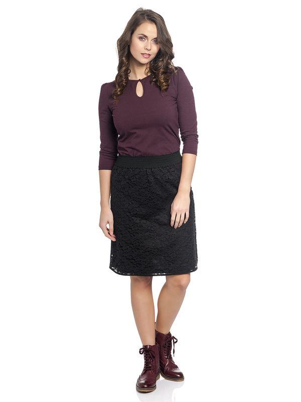 Vive Maria Vintage Lace Skirt black – Bild 5