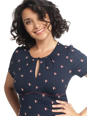 Vive Maria Little Fox Kleid dark blue – Bild 2