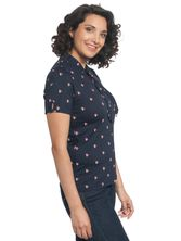 Vive Maria Miss Fox Shirt dark blue – Bild 3