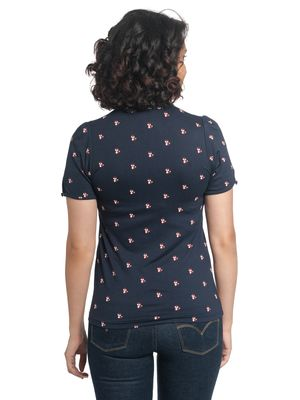 Vive Maria Miss Fox Shirt dark blue – Bild 1