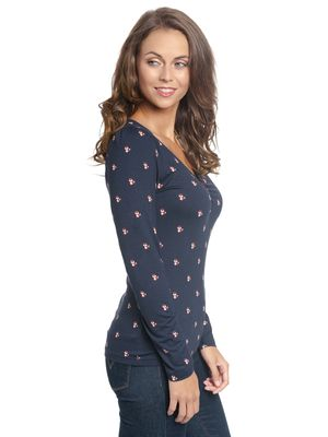 Vive Maria Little Fox Shirt dark blue – Bild 2
