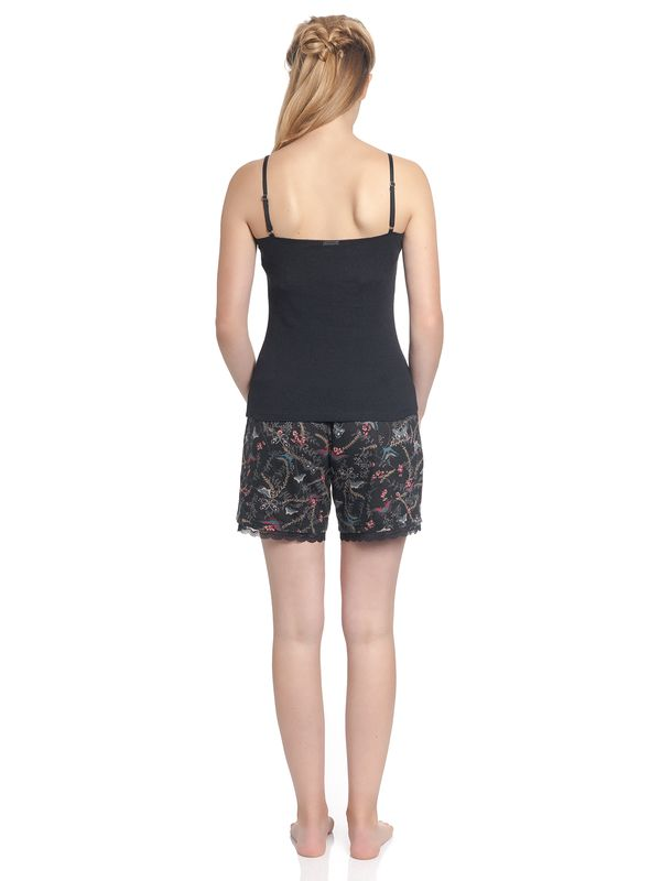 Vive Maria Papillon Short Pyjama Black allover – Bild 2