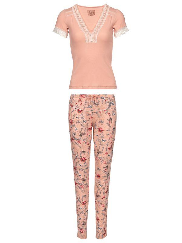 Vive Maria Doux Papillon Pyjama Aprikot Allover – Bild 0