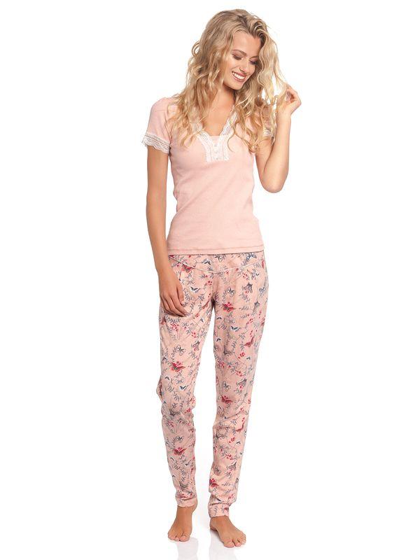 Vive Maria Doux Papillon Pyjama Aprikot Allover – Bild 1