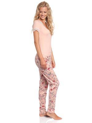 Vive Maria Doux Papillon Pyjama Aprikot Allover – Bild 3
