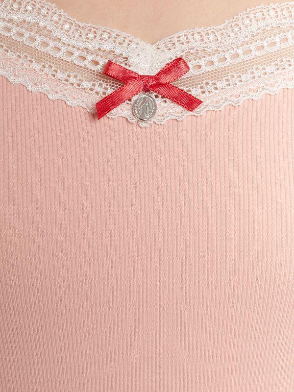 Vive Maria Doux Papillon Kurz Pyjama Aprikot Allover – Bild 5