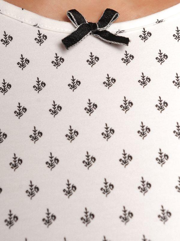 Vive Maria La Fillette Douce Short Pyjama cream allover/black allov – Bild 6