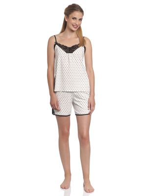 Vive Maria La Fillette Au Lit Short Pyjama cream allover – Bild 1
