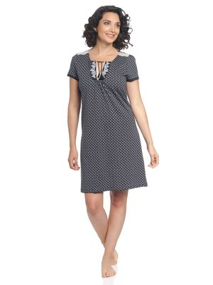 Vive Maria Boheme Dorée Nightdress blue allover – Bild 1