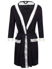 Vive Maria Boheme Lace Dressing Gown blue – Bild 0