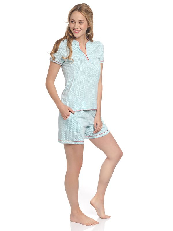 Vive Maria Bonbon Sucrée Short Pyjama lightblue allover – Bild 3