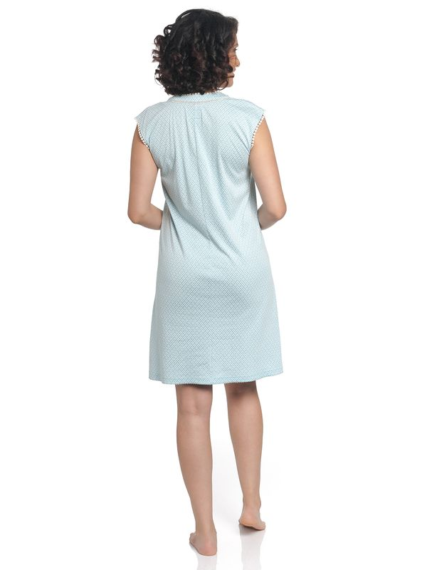 Vive Maria Bonbon Nightdress lightblue allover – Bild 2