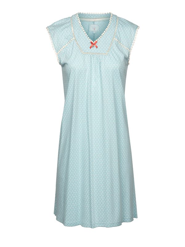 Vive Maria Bonbon Nightdress lightblue allover Ansicht