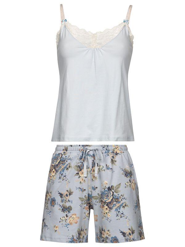 Vive Maria Au Ciel Short Pyjama blue/blue allover – Bild 0