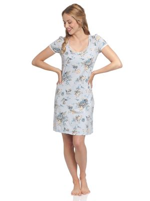 Vive Maria Au Ciel De Roses Nightdress blue allover – Bild 1