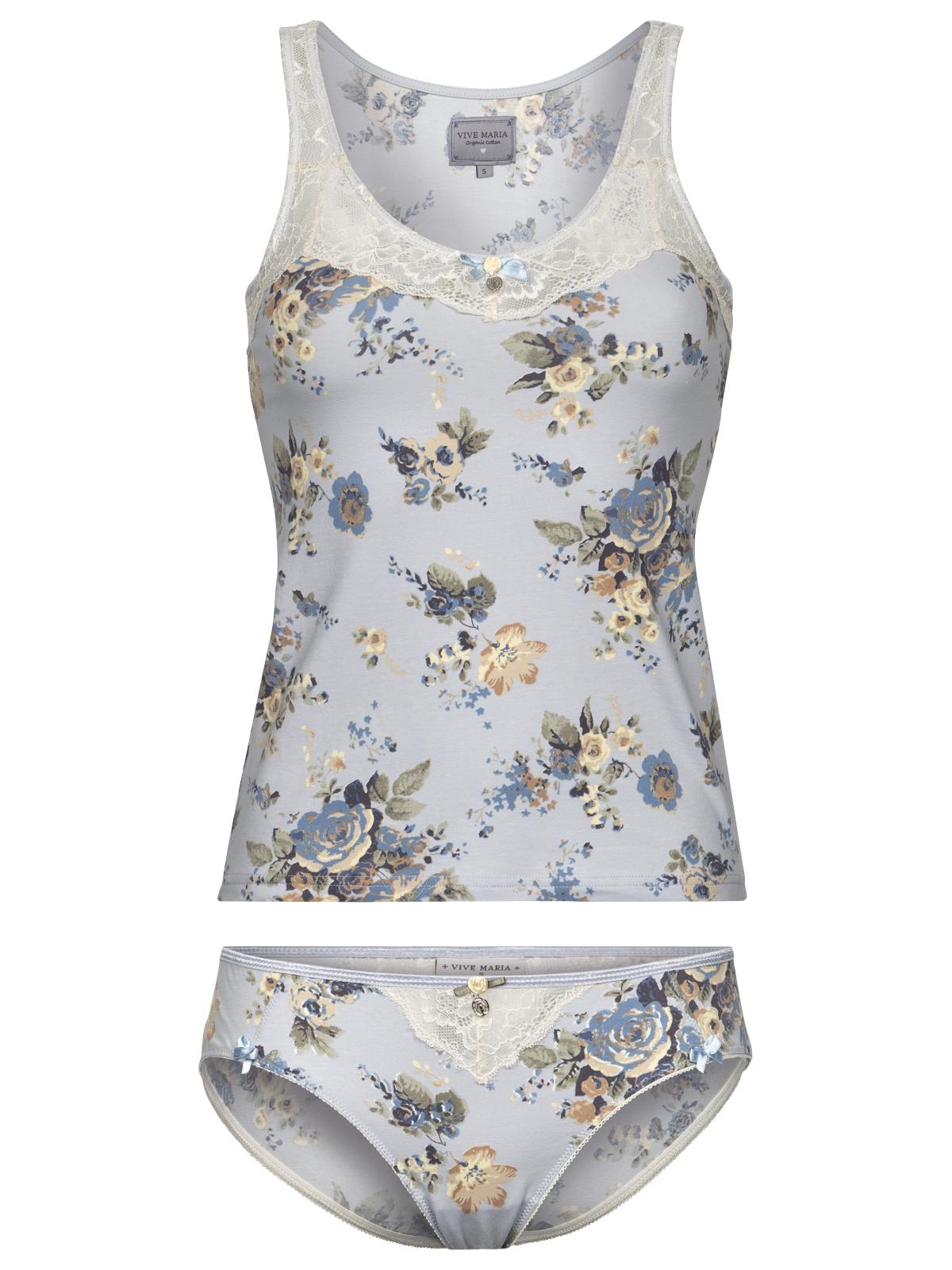 Waesche - Vive Maria Au Ciel De Roses Set blue allover – Größe XS  - Onlineshop NAPO Shop