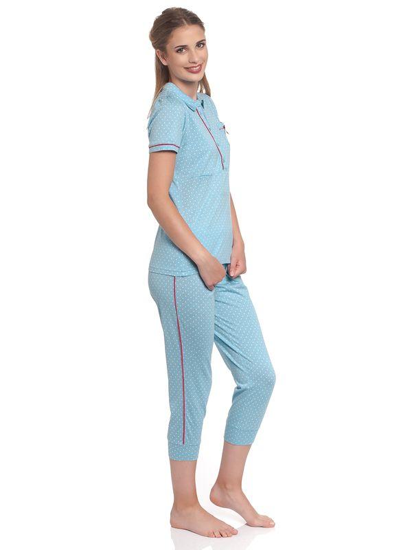 Vive Maria Mon Chou Pyjama blue allover – Bild 3