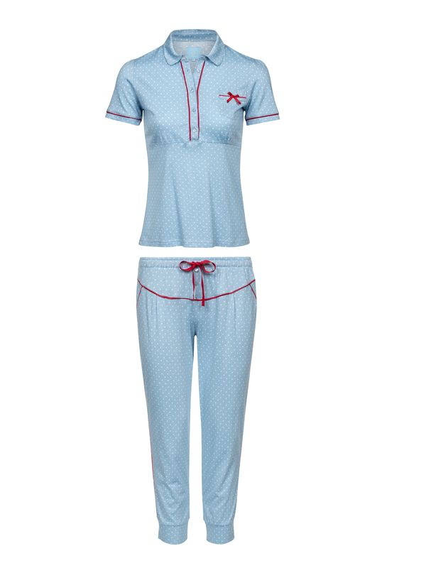 Vive Maria Mon Chou Pyjama blue allover view