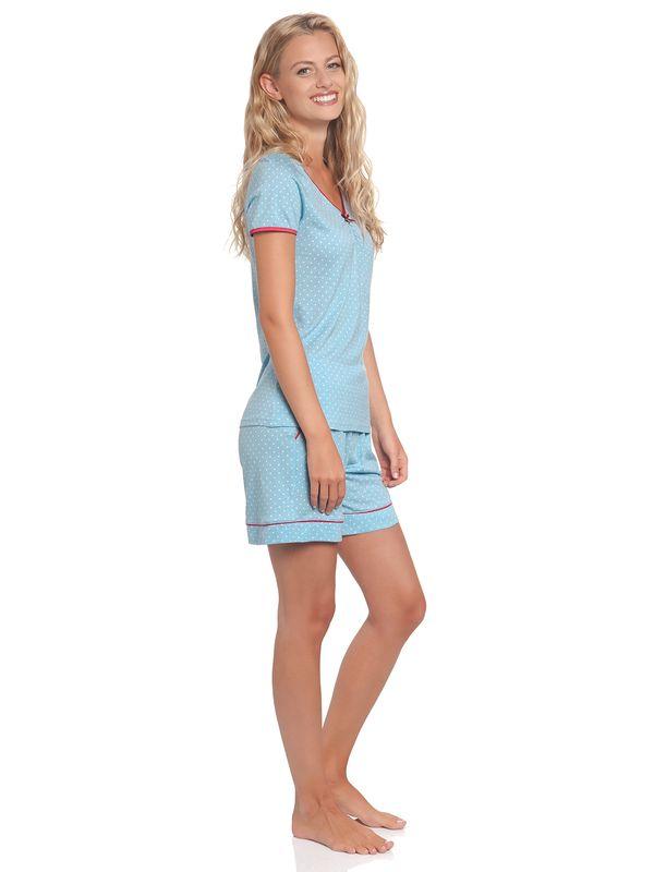 Vive Maria Chou Chou Short Pyjama blue allover – Bild 3