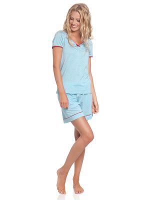 Vive Maria Chou Chou Short Pyjama blue allover – Bild 1