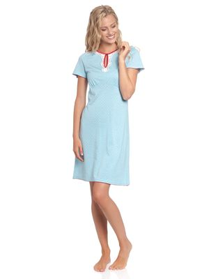 Vive Maria Chou Chou Nightdress blue allover – Bild 1