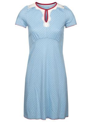 Vive Maria Chou Chou Nightdress blue allover – Bild 0