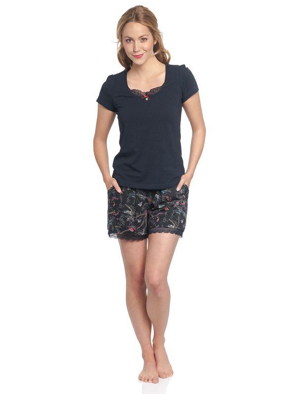 Vive Maria Papillon Short Pyjama Pants black allover – Bild 6