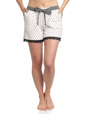 Vive Maria La Fillette Short Pyjama Pants black allover – Bild 1