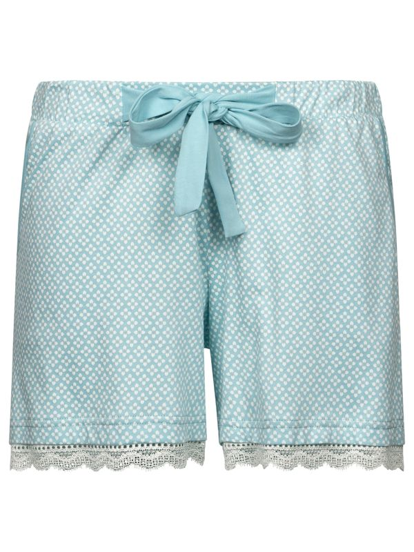 Vive Maria Bonbon Short Pyjama Pants lightblue allover Ansicht